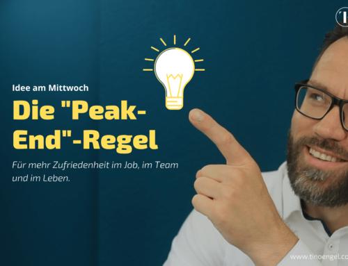 """Mehr Zufriedenheit im Job, im Team, im Leben – mit der """"Peak-End""""-Regel"""""""